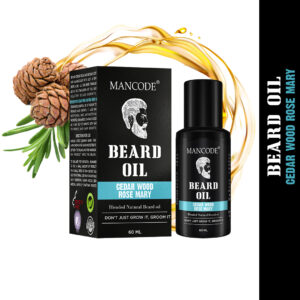cedar wood rose mary beard oil