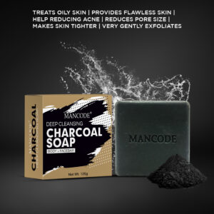 Charcoal Deep Cleansing Soap (125gm)